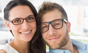 Eye Exam with Choice of Trial Pair of Contacts or $325 Credit Towards Frames and Lenses  (Up to 96% Off)