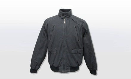 Brave Soul Men's Generation Bomber Jacket in Black. Multiple Sizes Available. Free Returns.