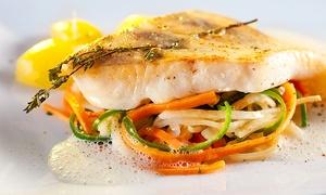 Restaurant Dampfschiff: Saisonales 3-Gänge-Kapitänsmenü für Zwei, Vier oder Sechs im Restaurant Dampfschiff