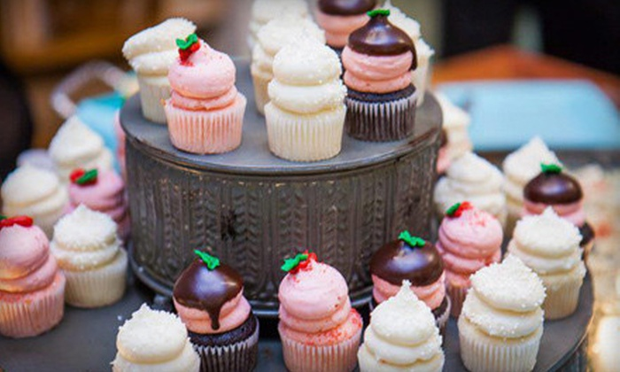 Gigi's Cupcakes - Tuscaloosa: One or Two Dozen Mini Cupcakes at Gigi's Cupcakes (Up to Half Off)