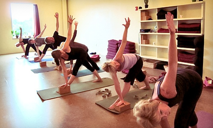 Dancing Crow Yoga - Hingham: 5 or 10 Classes, or One Month of Unlimited Classes at Dancing Crow Yoga (Up to 61% Off)