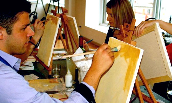 Frazier Studios - West Town: BYOB Painting Class for Two or Four or a Two-Day Art Workshop for One at Frazier Studios (Up to 53% Off)