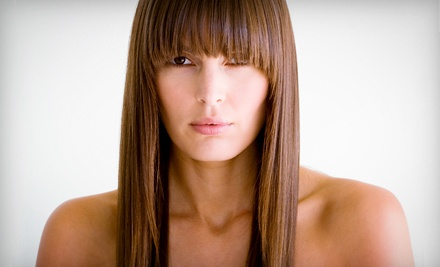 One, Two, or Three Brazilian Blowout Keratin Treatments at Jaafar Tazi Salon (Up to 79% Off)