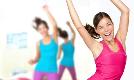 5, 10, or 20 Group Zumba and Belly Dance Lessons at DanceFit 455 (Up to 76% Off)