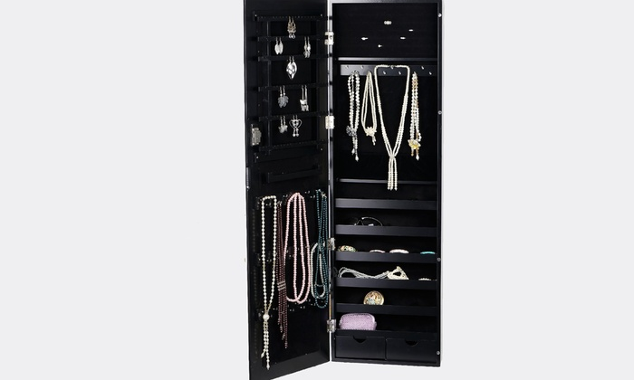 BTExpert - Brea: $180 for a Wall Mounted Jewelry Armoire Cabinet from BTExpert ($399 Value)