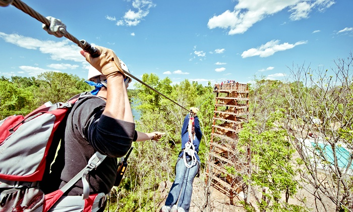 Canaan Zipline Canopy Tour - Rock Hill, SC: Up to 3.5-Hour Zipline Canopy Tour for One or Two at Canaan Zipline Canopy Tour (Up to 47% Off)