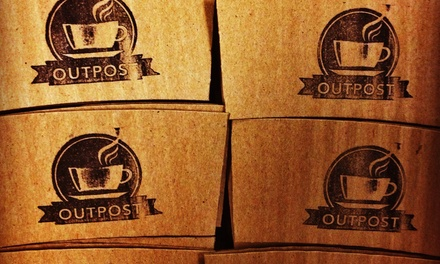 $6 for $10 Worth of Coffee — Outpost Coffee Shop