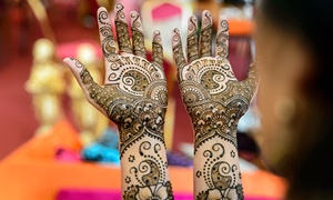 AllAboutHenna: Small, Medium, or Large Henna Body Art at All About Henna (Up to 52% Off)