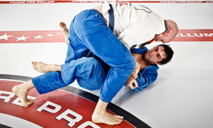 REV Combat Brazilian JiuJitsu and MMA - Costa Mesa: One Month of Jiu-Jitsu Martial Arts for One or Two at REV Combat Brazilian JiuJitsu and MMA (Up to 77% Off)