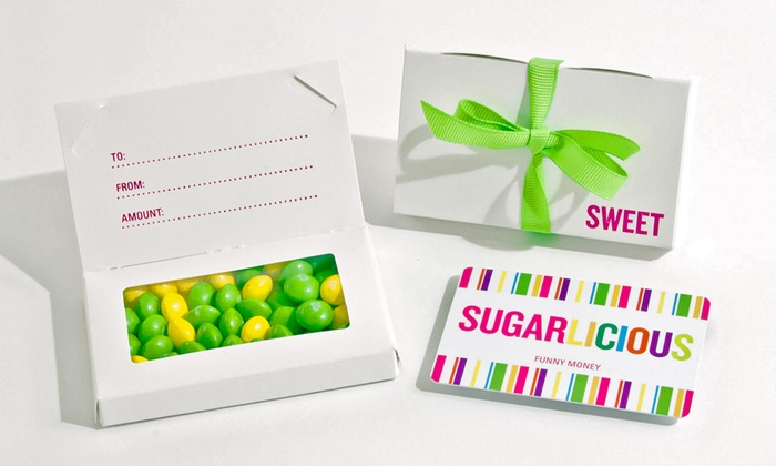 Sugarlicious Candy - Cherry Creek: $16 for One Pound of Candy, Plus a $10 Gift Card at Sugarlicious Candy ($24.99 Value)
