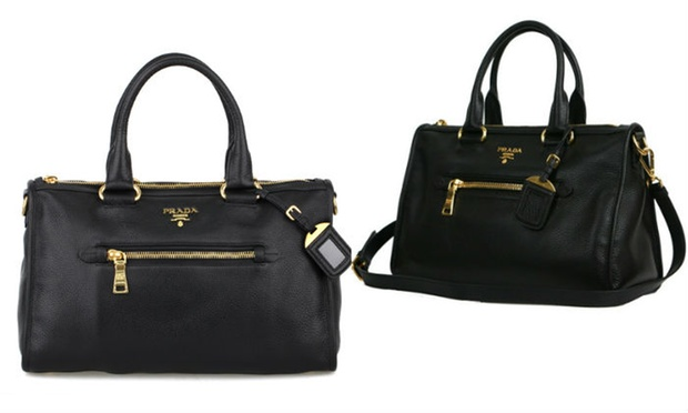 0990a14f099e ... prada black leather purse - Prada Women s Handbags in Choice of Style  from AED 2999 ...