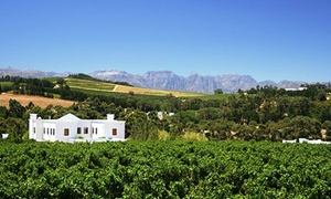 Topaz Wine company (Local): Mini Wine Tour from R65 for Two with Topaz Wine Company(Up to 55% Off)