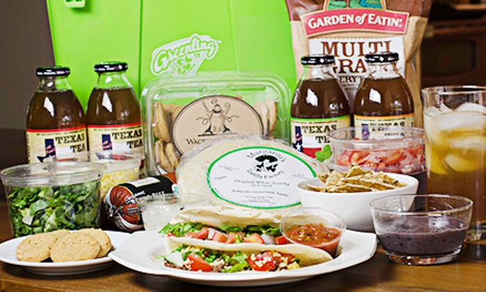 Greenling: $22 for a Taco Fiesta for 4 or Spaghetti Feast for 4 Dinner Kit with Delivery from Greenling ($40 Value)