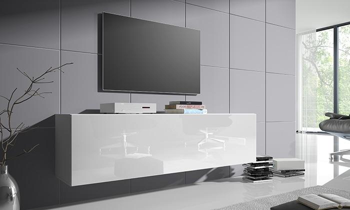 schwebendes tv m bel groupon goods. Black Bedroom Furniture Sets. Home Design Ideas