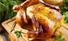 1 poulet rôti labélisé à emporter