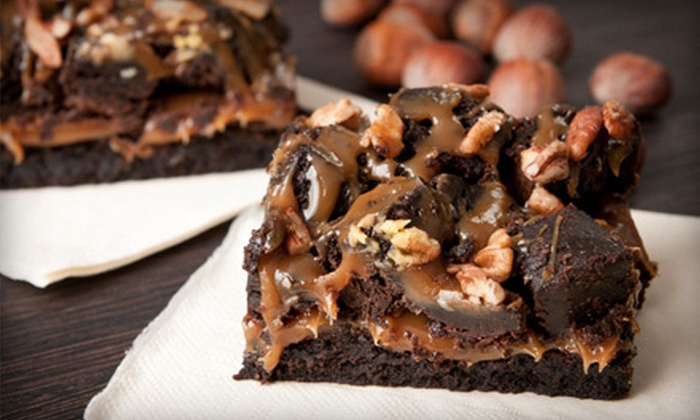 iKKSS Gourmet - Manhattan Beach: $25 for a Holiday Brownie Sampler from iKKSS Gourmet (Up to $50 Value)