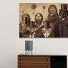 Star Wars Inspired Art on Gallery-Wrapped Canvas