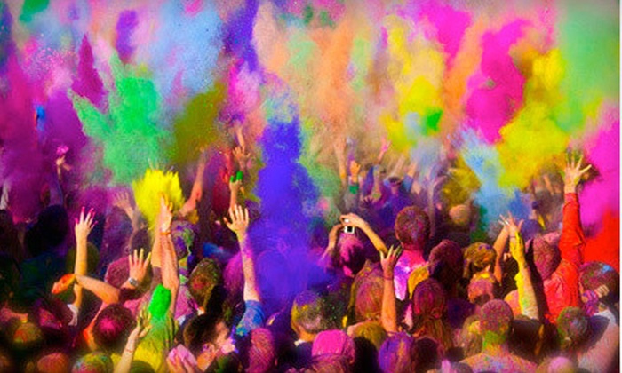 Color Mob 5K - Wildflower Area: $25 for Entry to Color Mob 5K on Saturday, March 30 ($50 Value)