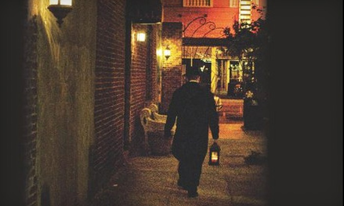 Carolina History & Haunts - First Ward: 75-Minute Beyond the Grave Walking Tour for Two or Four from Carolina History & Haunts (Up to 53% Off)