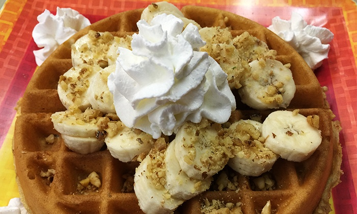 Rosko's Bagels & Waffles - Rosko's Bagels & Waffles: $30 or $60 Worth of Casual American Food, or A Baker's Dozen Roskos Bagels & Waffles (50% Off)