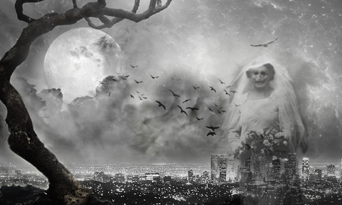 City of Dark Angels Ghost Tours - Hollywood/Vine Metro Plaza: Up to 51% Off Walking Ghost Tours at City of Dark Angels Ghost Tours