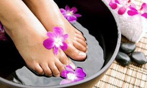 Divine Wellness: Detox Footbath with Optional Compass Scan or Three Footbath Sessions at Divine Wellness (Up to 59% Off)