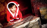 Christmas Family Photoshoot with Calendar, Cards or Canvas at Cloud House Studios (Up to 88% Off)