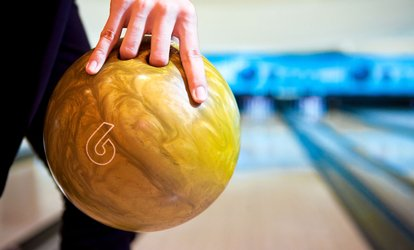 image for Bowling Outing for Two, Four, or Six with Shoe Rental and Soda at Golden Pin Lanes (Up to 61% Off)