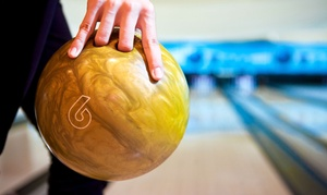 Strike 10 Lanes: Bowling Package for Two or Up to Five at Strike 10 Lanes (Up to 59% Off)