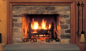All Points Chimney, Stoves & Fireplaces Inc: $79 for Full Fireplace Cleaning Plus Inspection from All Points Chimney, Stoves & Fireplaces Inc ($159.95 Value)