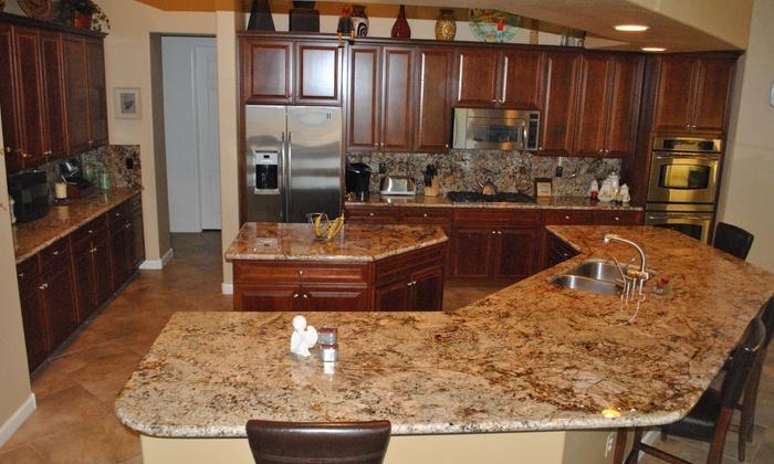 Rock Solid Granite & Marble - Peoria Crossing: $40 for $100 Worth of Remodeling Services — Rock Solid Granite & Marble Inc