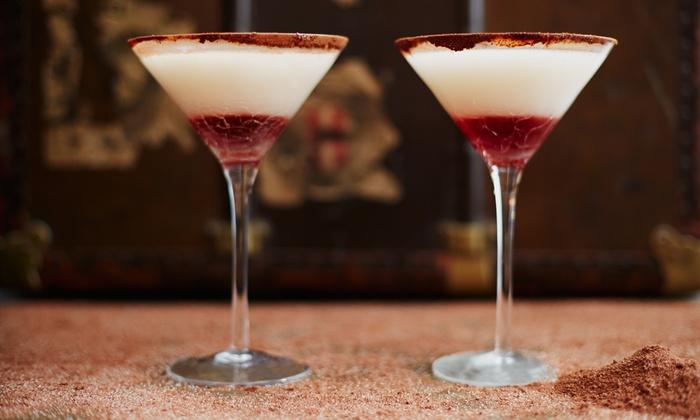 Expresso Italian Buffet & Beverage - Roma: Aperitivo con cocktail o calice di vino per 2 o 4 persone al bar Expresso, vicino ai Musei Vaticani (sconto fino a 53%)