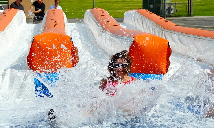 The Great Inflatable Race - Memorial Park: Entry for One or Two to The Great Inflatable Race on Saturday, July 30 (Up to 60% Off)