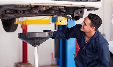 Conventional of Full-Synthetic Oil Change at Discount Car Care (Up to 53% Off)