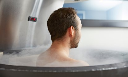image for One or Three Whole-Body Cryotherapy Sessions at Glo Sun Spa (Up to 82% Off)