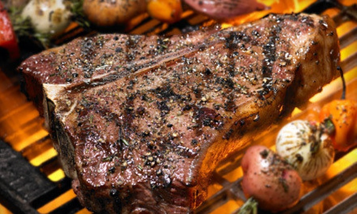 The Edge of Texas Steakhouse and Saloon - El Paso: Steaks, Barbecue, and Nonalcoholic Beverages for Lunch or Dinner at The Edge of Texas Steakhouse and Saloon (50% Off)