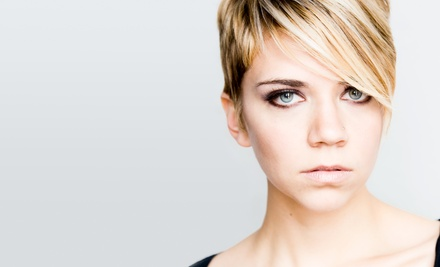 Haircut and Deep Conditioning with Optional Color Touchup or Highlights at 2 Blond Salon (Up to 63% Off)