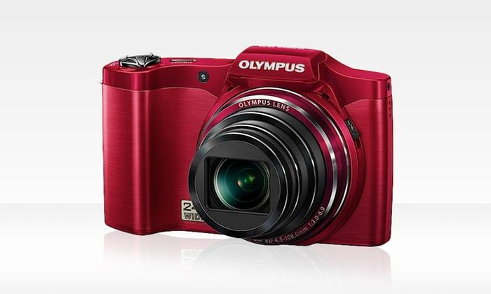 Olympus SZ-14 14-Megapixel Digital Camera : Olympus SZ-14 14-Megapixel Digital Camera with 24x Zoom and 4 GB SD Card (Refurbished). Free Returns.