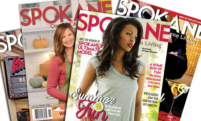"Spokane Coeur d'Alene Living Magazine: One- or Two-Year Subscription to ""Spokane Coeur d'Alene Living"" Magazine (50% Off)"
