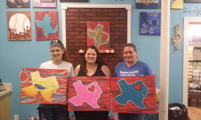 Painting At The Bricks - Wills Point: $20 for $35 Groupon — Painting at the Bricks