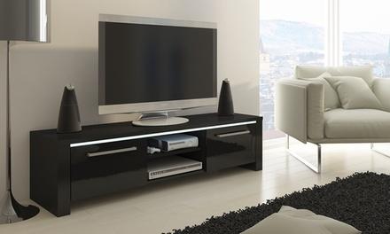 Móvel para televisão modelo Orlando com ou sem luzes LED disponível em cinco cores desde 129€