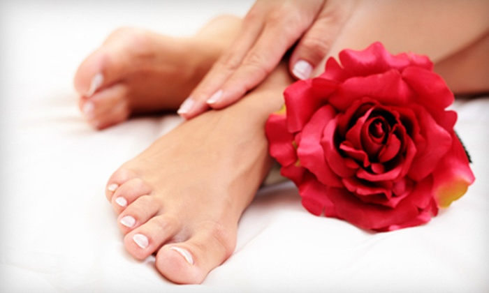 Christie Pea Nail Salon & Boutique - Sunset: $40 Worth of Nail and Spa Services