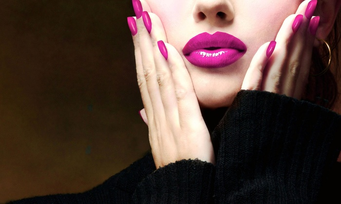 Nail Nail Studio - City Centre: One or Three Spa Manicures with Paraffin Treatments and Gel Color at Nail Nail Studio (Up to 59% Off)