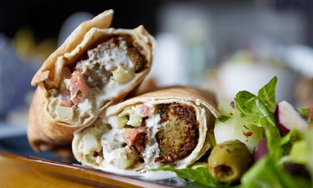 $12 for Two Groupons, Each Good for Middle Eastern Combo Meals at Shawarma Vite ($20 Total Value)