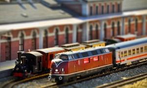 Musée du Train Miniature: Visite libre avec 2 entrées adultes, option 2 entrées enfants dès 6 € au Musée du Train Miniature