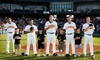 Joliet Slammers - East Joliet: Joliet Slammers Game for Two or Six with Snacks on July 3 or 4 at Silver Cross Field in Joliet (Up to 52% Off)