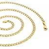 Solid 14K Gold Diamond Cut Cuban Pave Chain