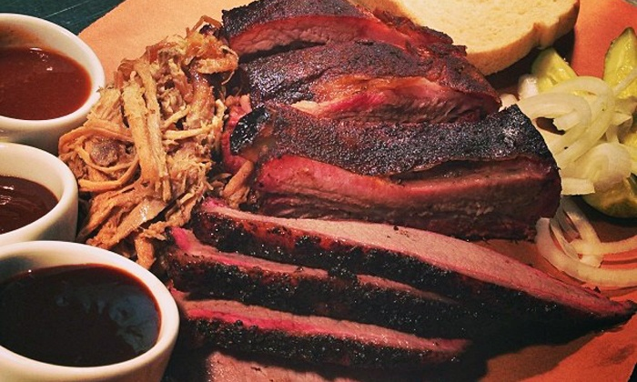 The Single Barrel - Downtown: Locally Sourced Chophouse Cuisine for Two or Four at The Single Barrel (47% Off). Three Options Available.
