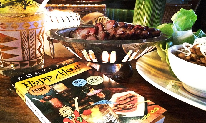 Happy Hour Guidebook - Trader Vic's: $6.95 for the 2014 Portland Happy Hour Guidebook ($15 Value)