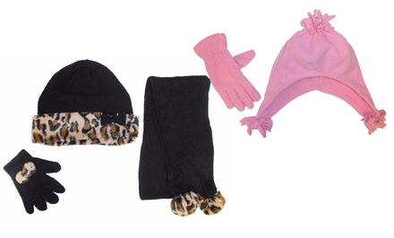 Kids' Cold-Weather Accessory Sets. Multiple Sets from $4.99–$8.99.